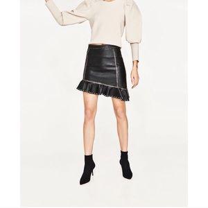Zara Skirt with Metallic Details